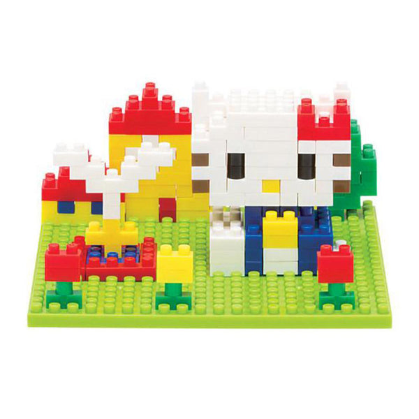 Hello Kitty Block Art