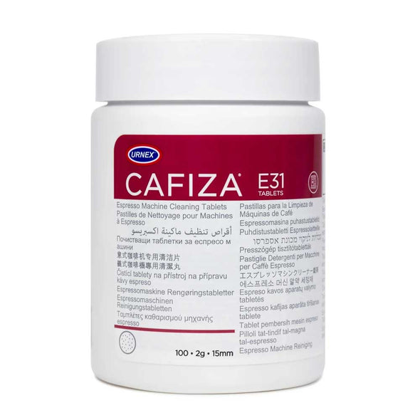 Urnex Cafiza E31 Espresso Machine Cleaning Tablets