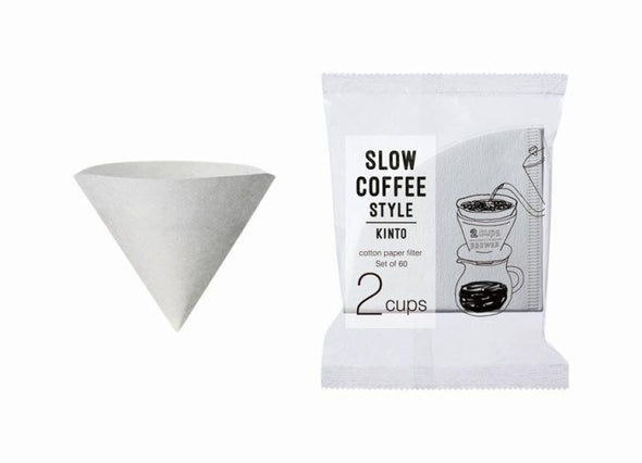KINTO SCS-02-CP-60 COTTON PAPER FILTER 2CUPS