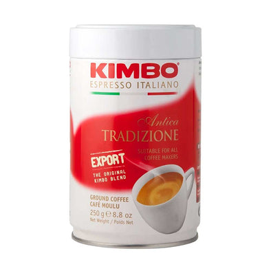 kimbo antica tin coffee