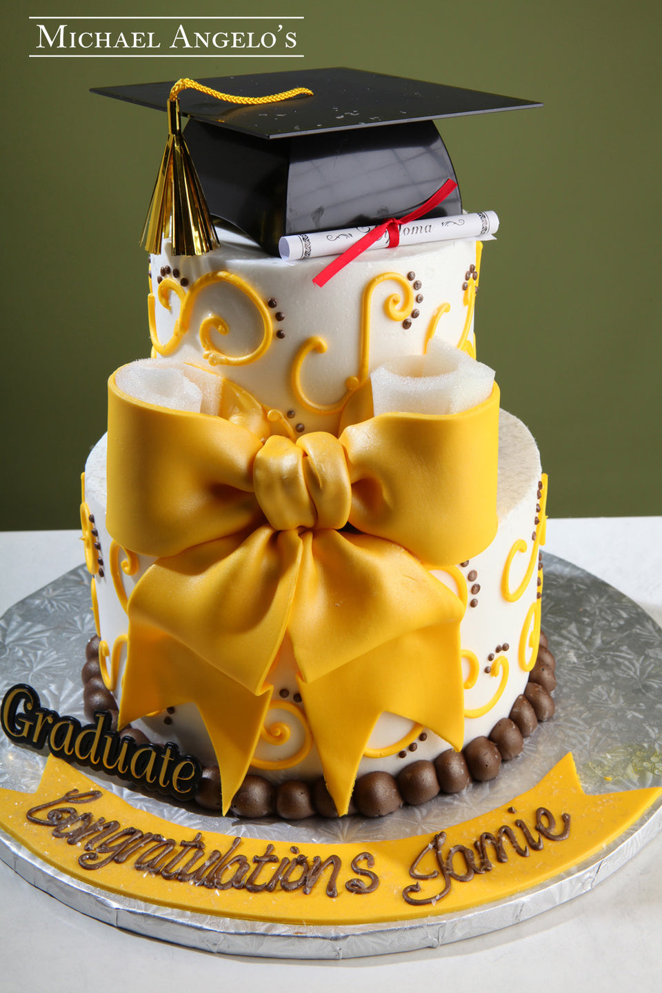 Graduation Cakes Michael Angelos