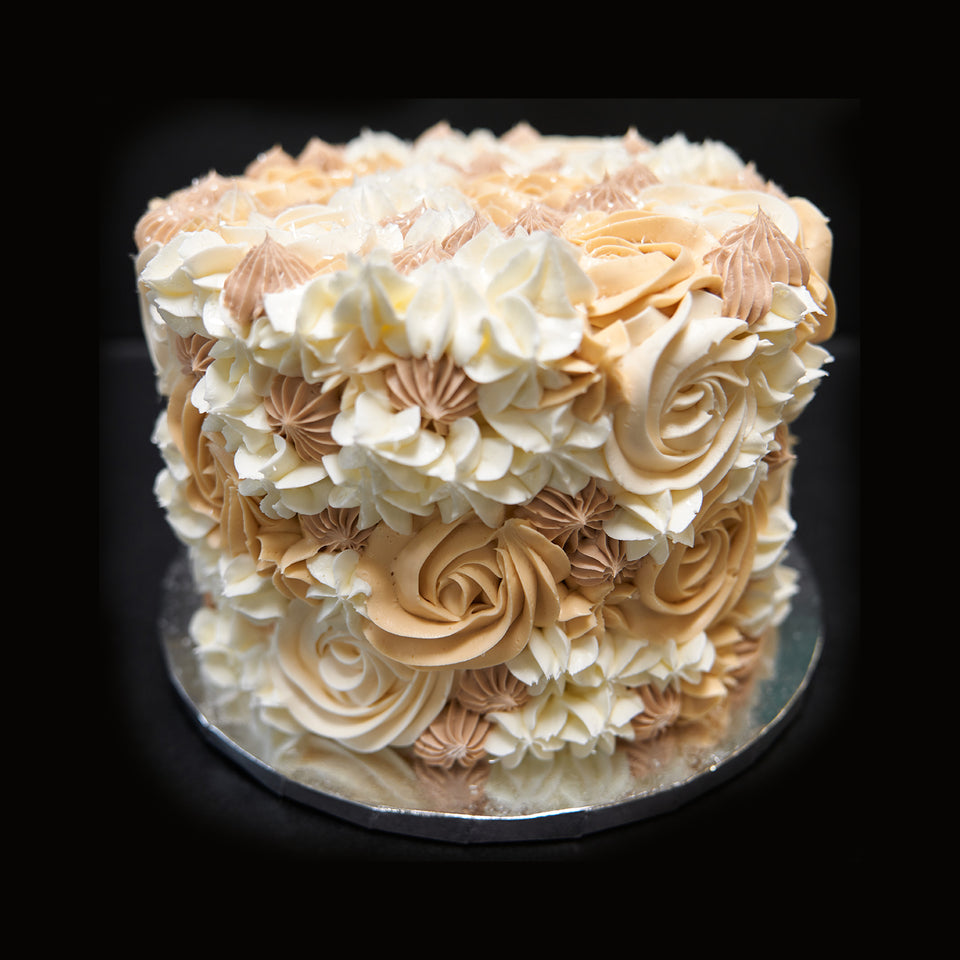 Online Cake  Order - Gold Rosette  #8Featured