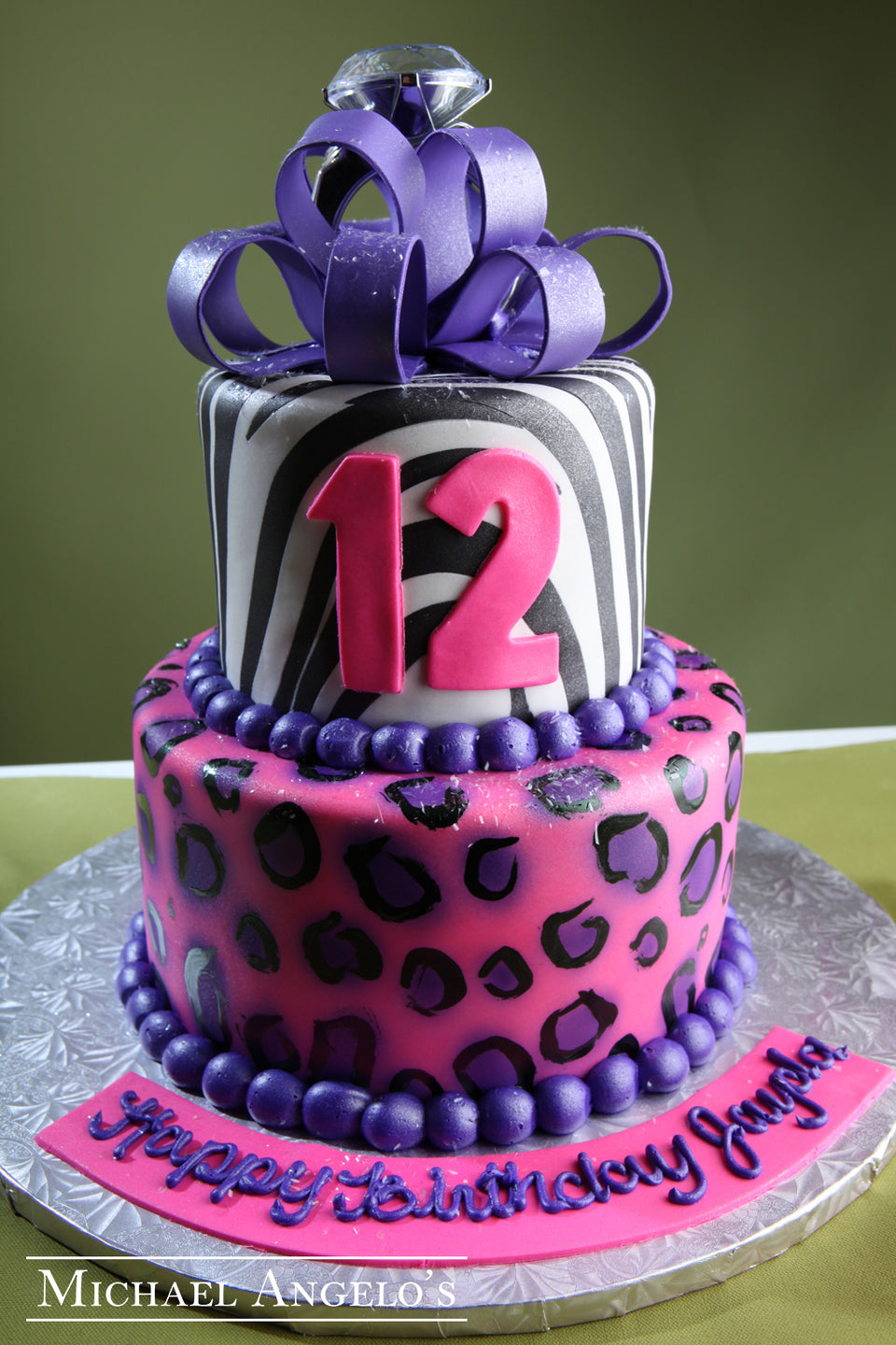 Purple Cheetah #2AnimalPrint