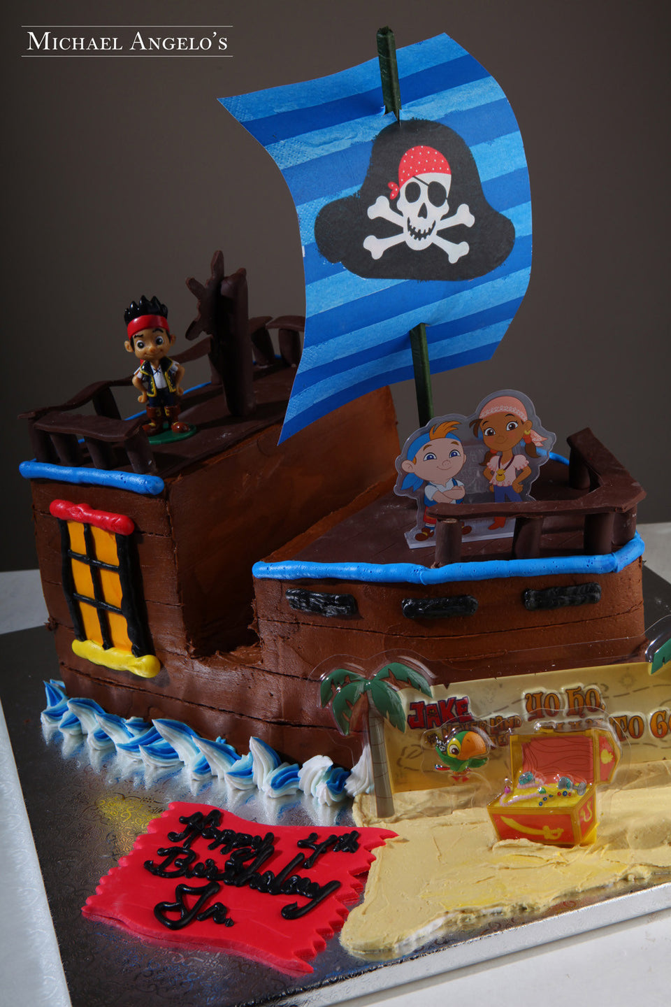 Jake's Pirate Ship #132Characters