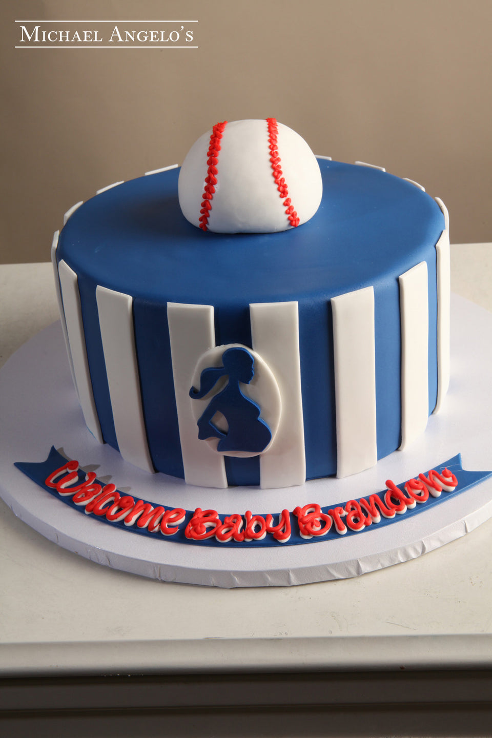 510f8950be44 ... baby shower cakes. Batter Up!  190Baby