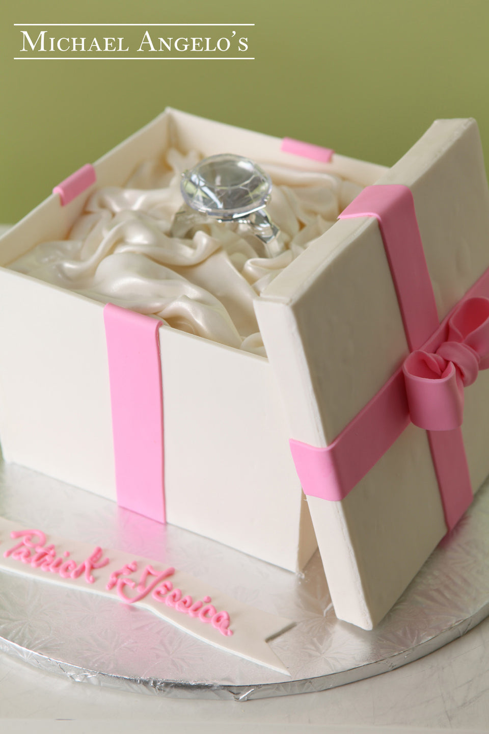 Gift Box with Ring #10Bridal