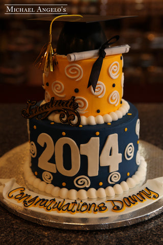 Graduation Cakes Michael Angelo S Bakery