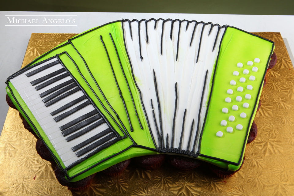 Accordion Shaped Cupcakes #60Hobbies