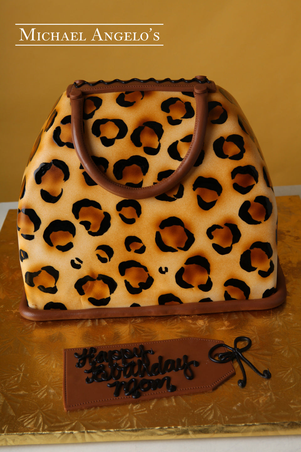 Brown Cheetah Handbag #29Handbag