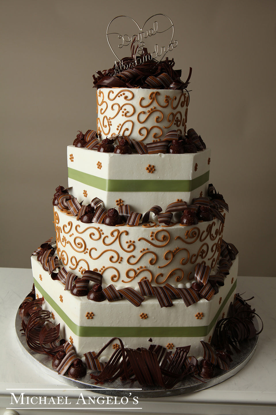 Chocolate & Sage #28Ribbons