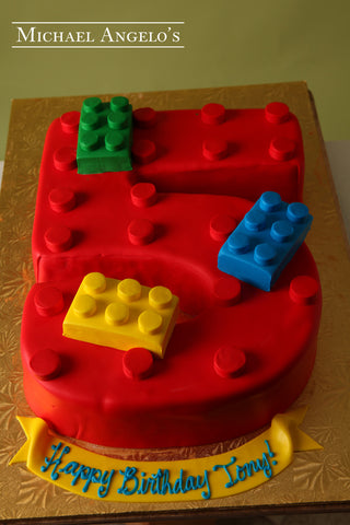 Block Number Cake #83Hobbies