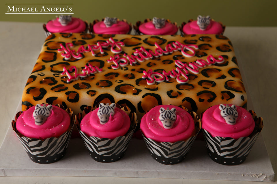 Cheetah Sheetcake #16AnimalPrint