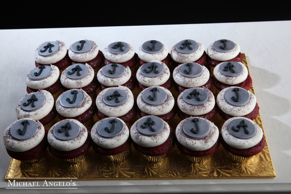 Couple's Initial Cupcakes #55Bridal