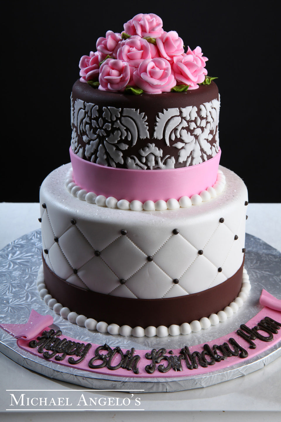 Damask with Roses #105Milestones