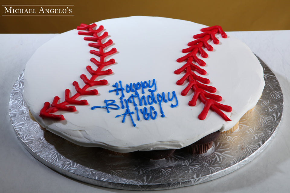 Shaped Baseball Cupcakes #44Hobbies