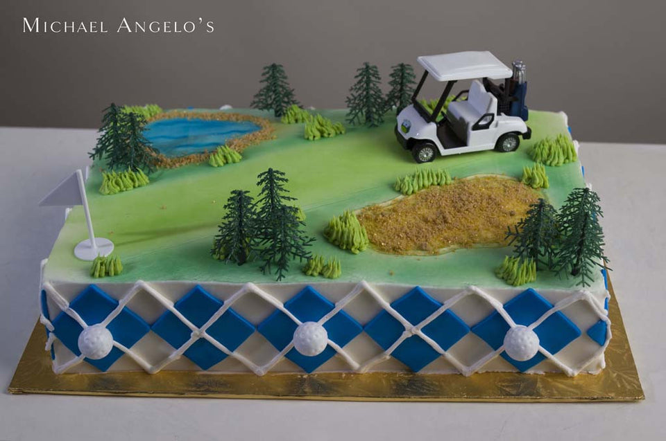 Golf Cart & Argyle #342Hobbies