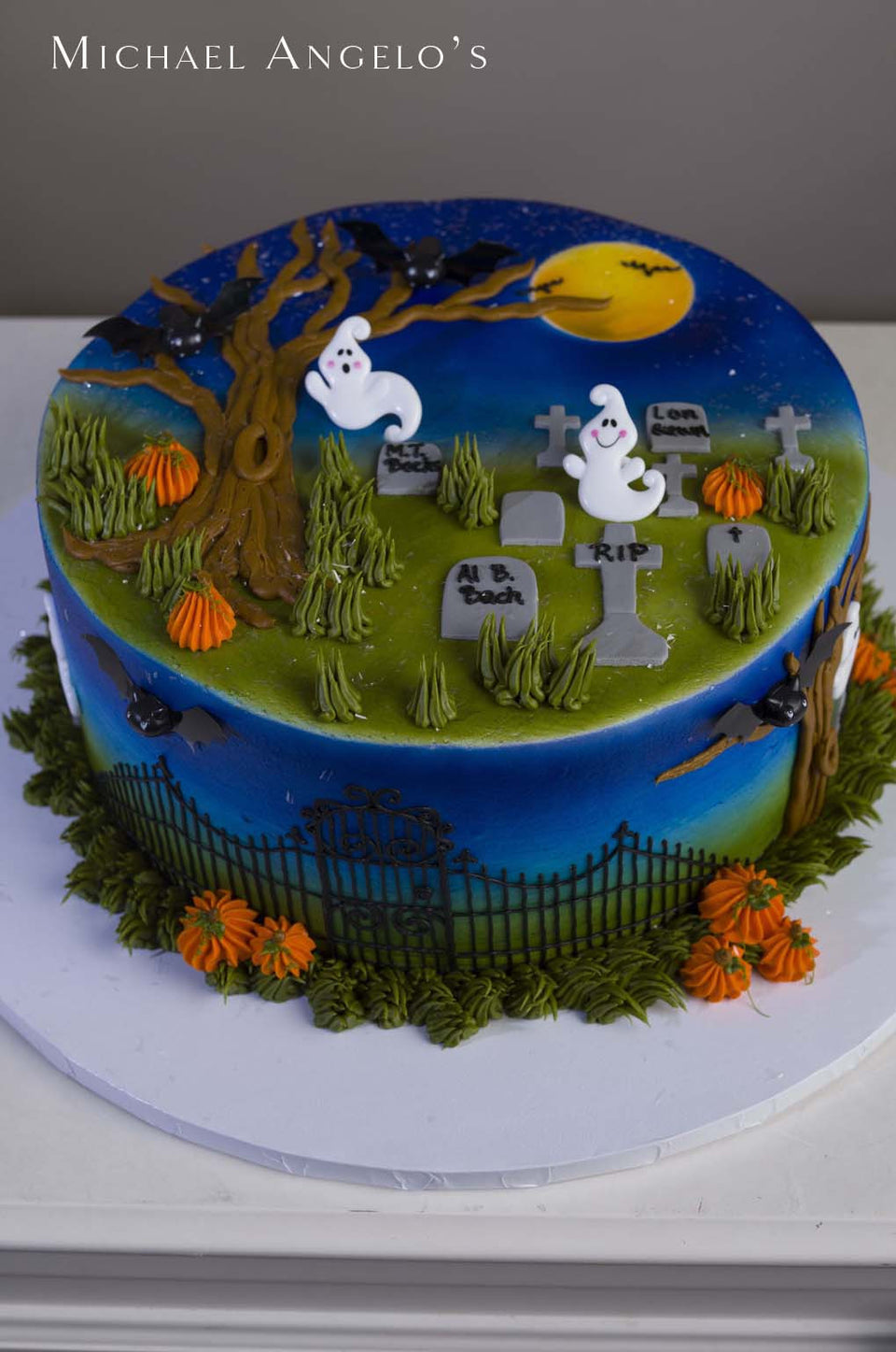 Graveyard Cake #1Holiday