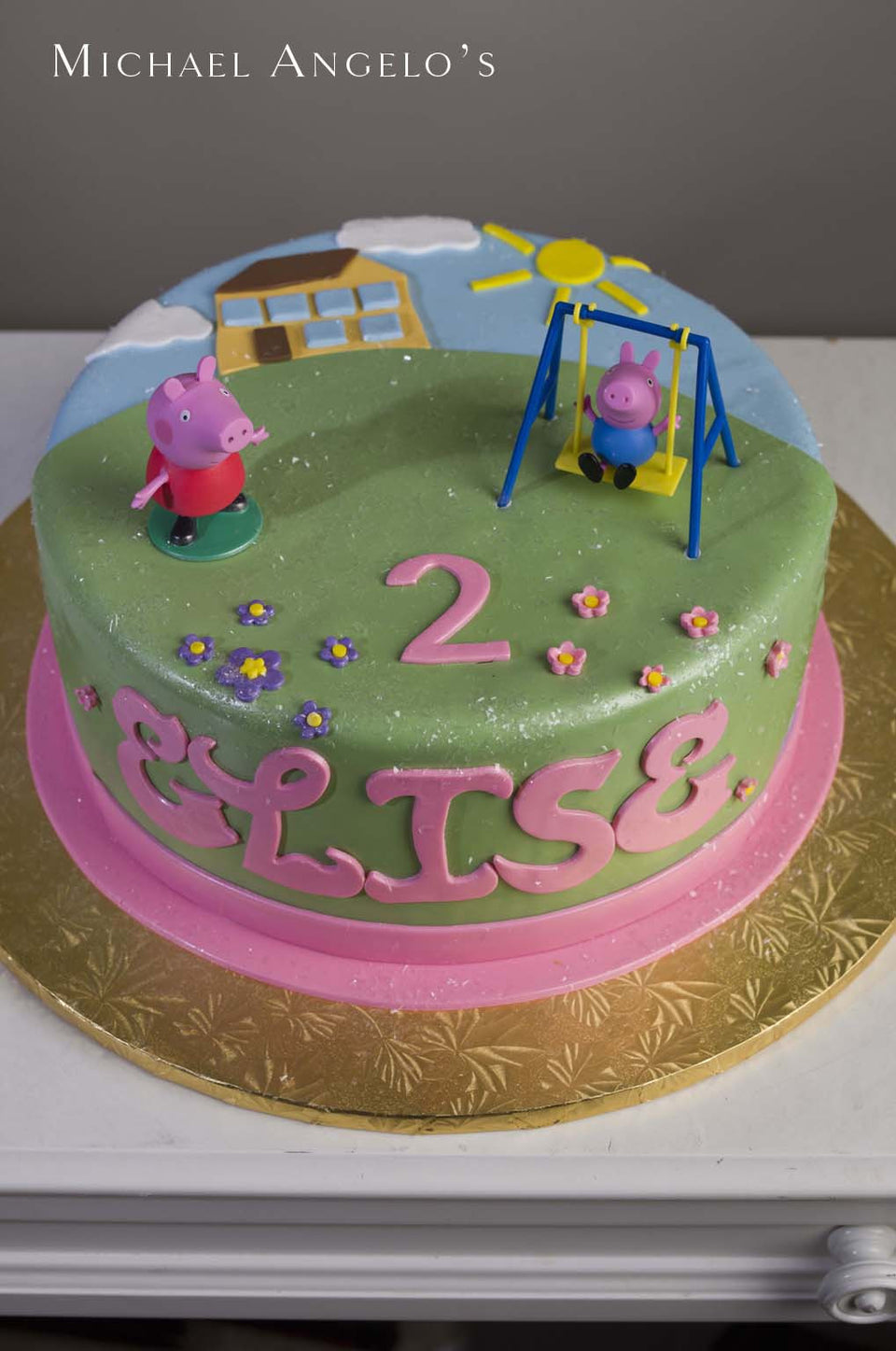 Peppa Pigs Playground 268characters Michael Angelos