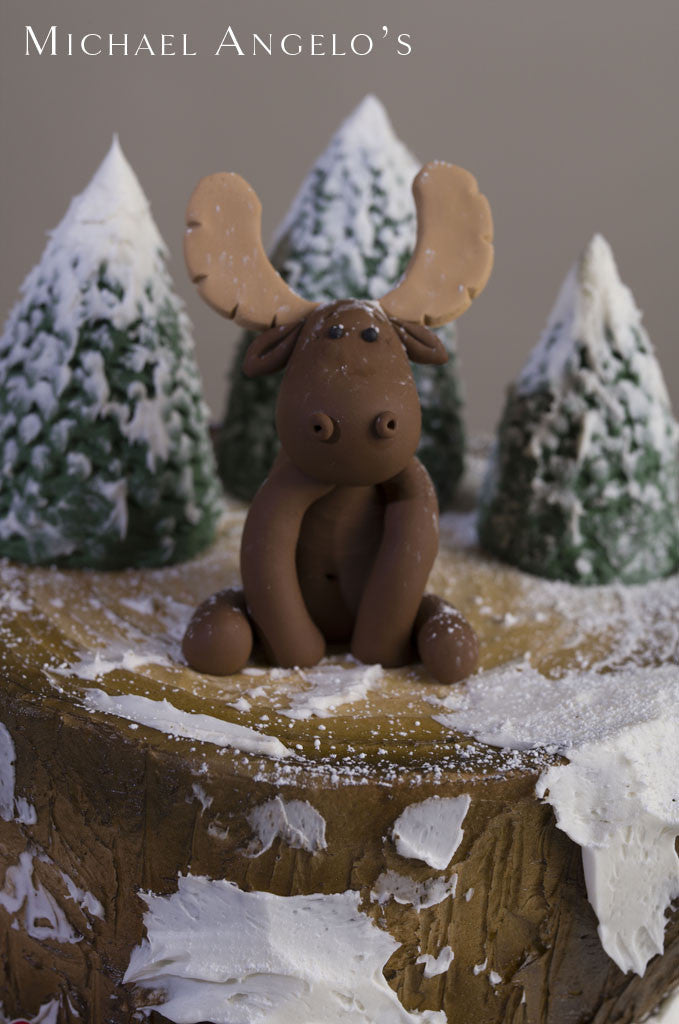 Wintery Moose #16Holiday