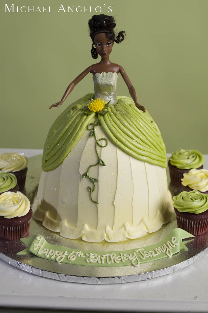 Tiana Doll Cake #300Characters