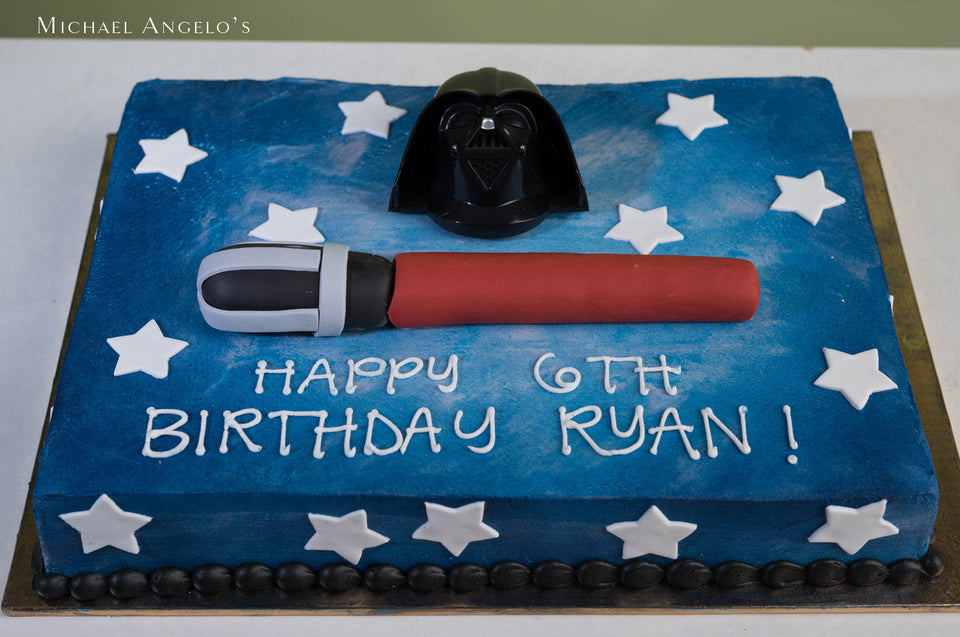 Star Wars Sheet Cake #313Characters