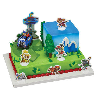 Paw Patrol Chase To The Rescue DecoPac Kit