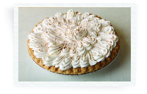 Pumpkin Pie with Whip Cream