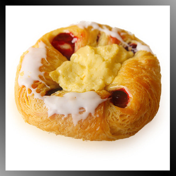Raspberry Cheese Danish