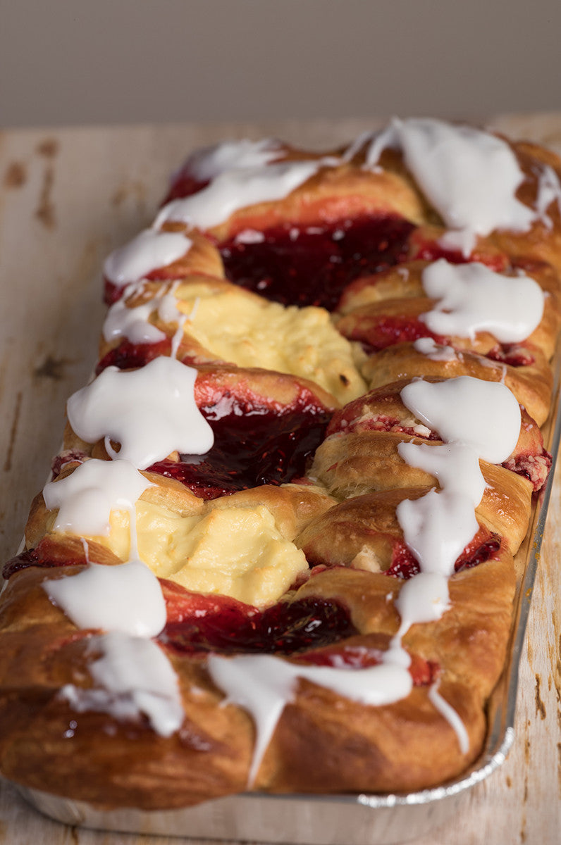 Raspberry Cheese Kuchen
