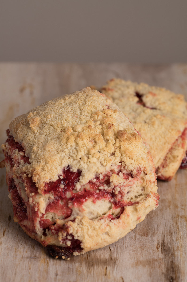Raspberry Russian Tea Cake