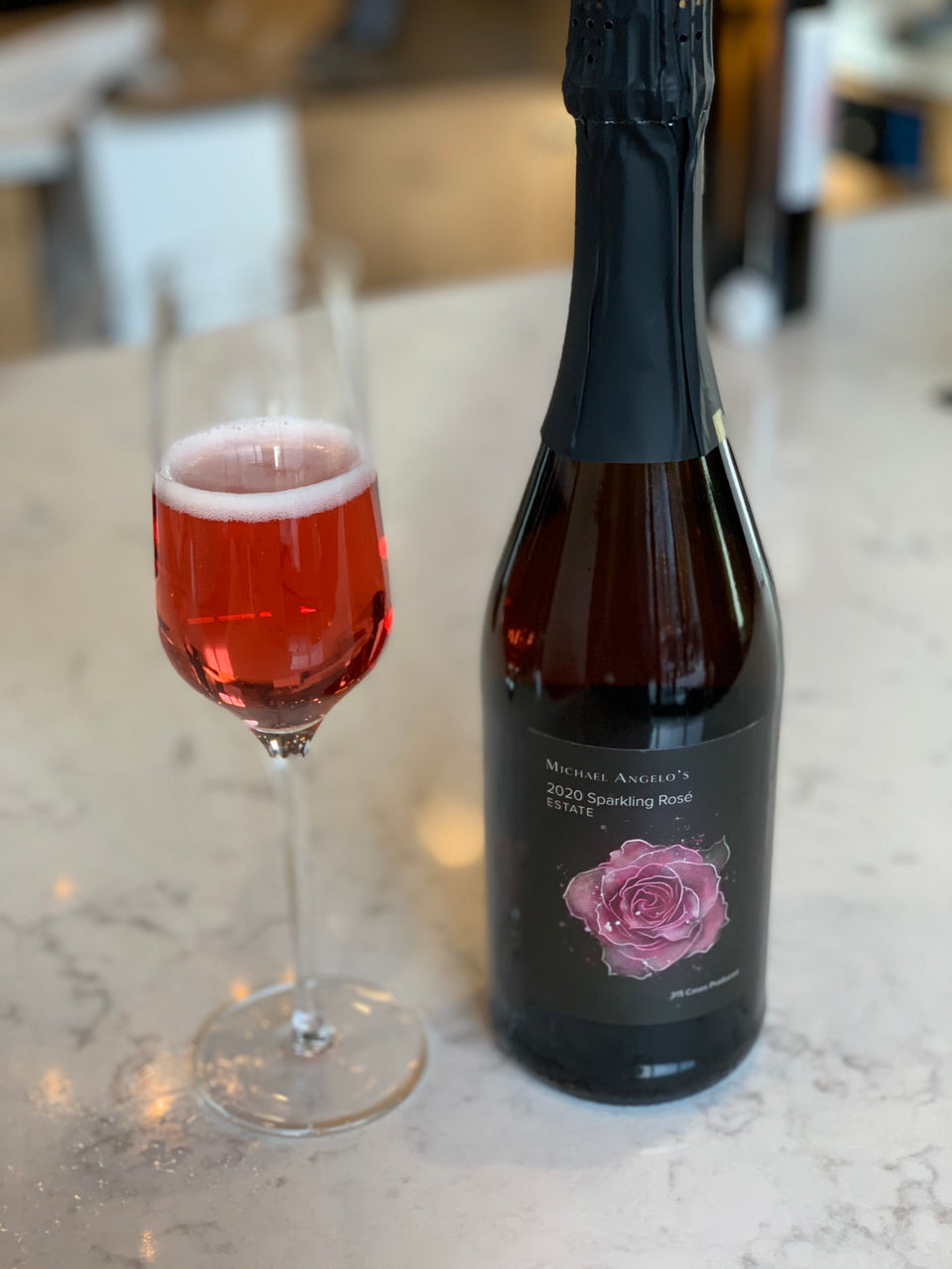 2020 Estate Sparkling Rosé Richfield Ohio