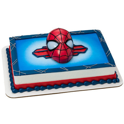 Spider-Man Number Cake #210Characters