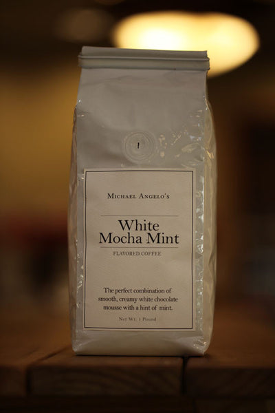 White Mocha Mint Coffee 1 lb