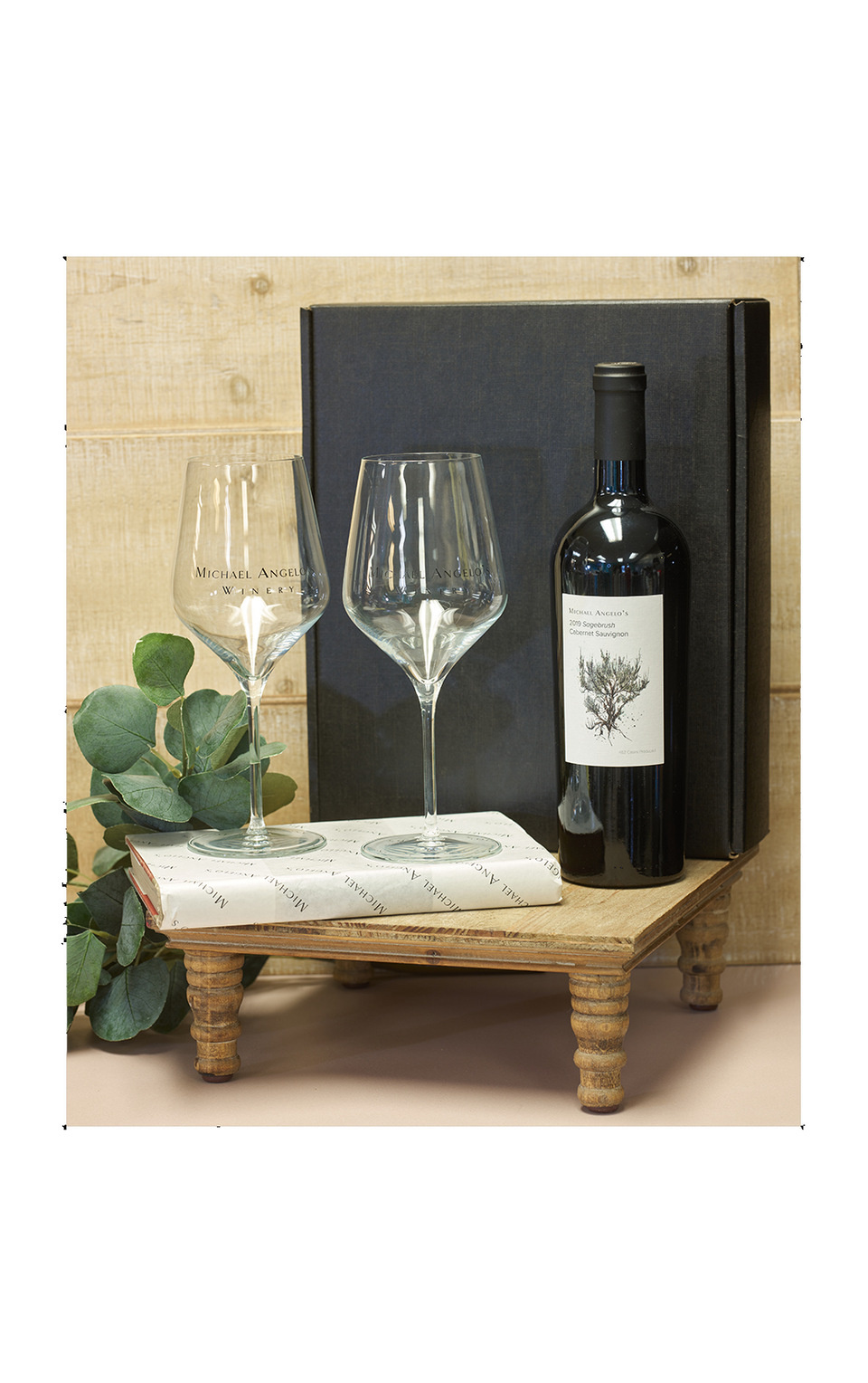Wine Glasses and Wine Gift Package