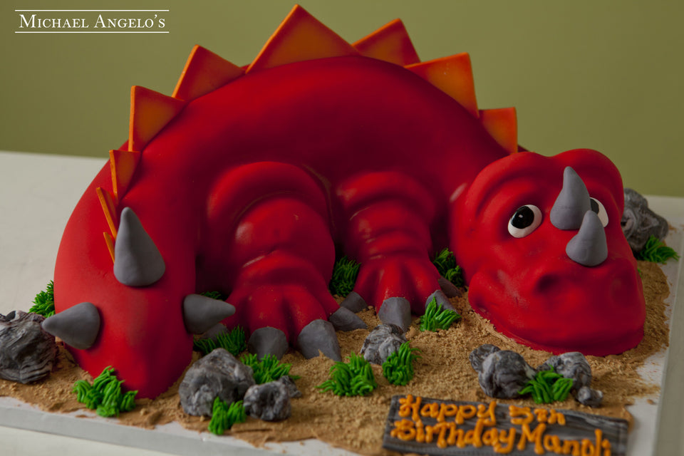 Red Dinosaur #48Animals