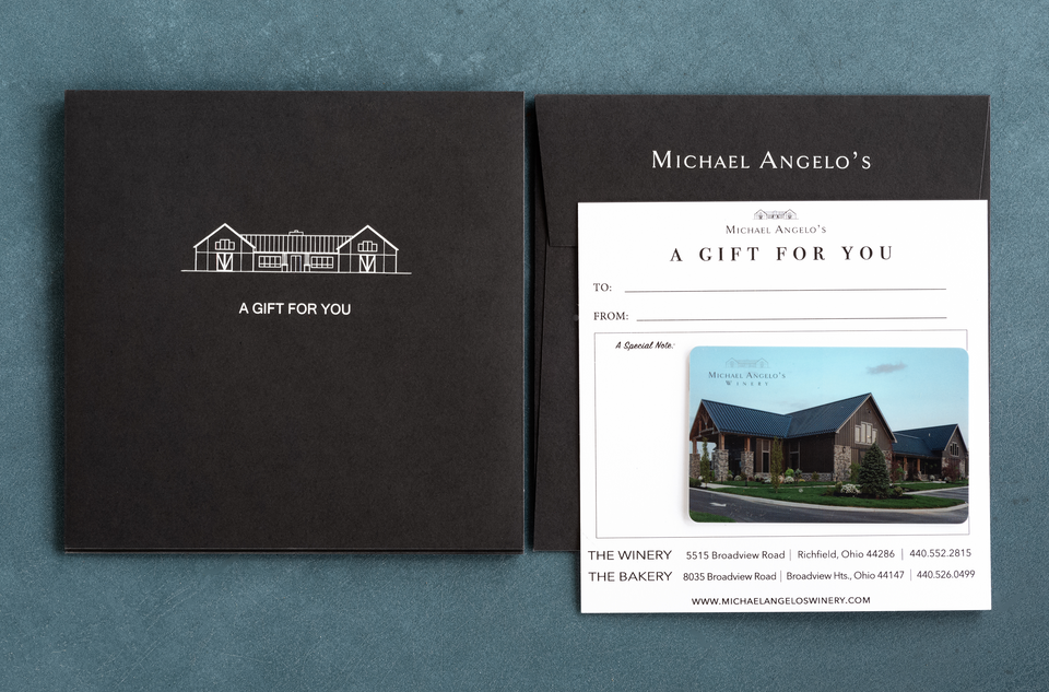 Michael Angelo's Gift Card