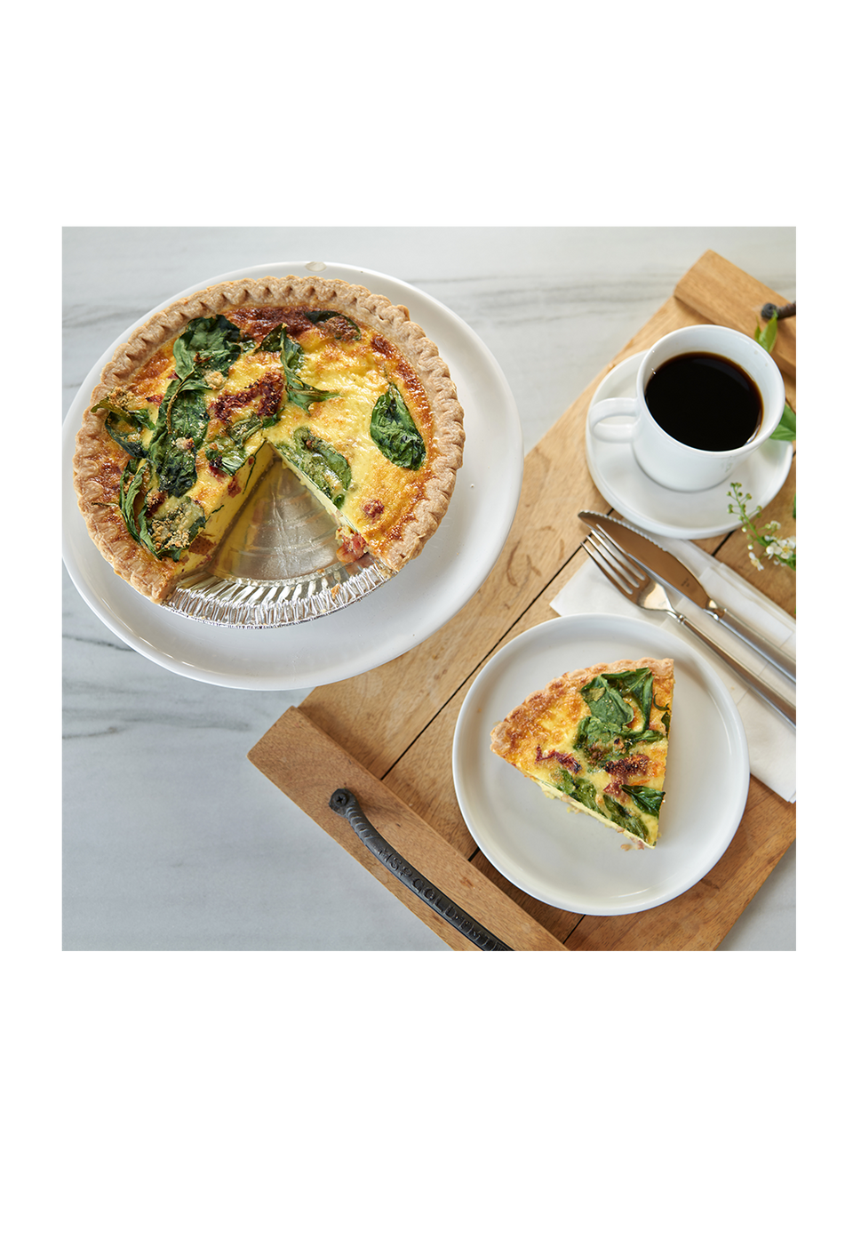 Online Preorder - Mother's Day Quiche Bakery Pickup