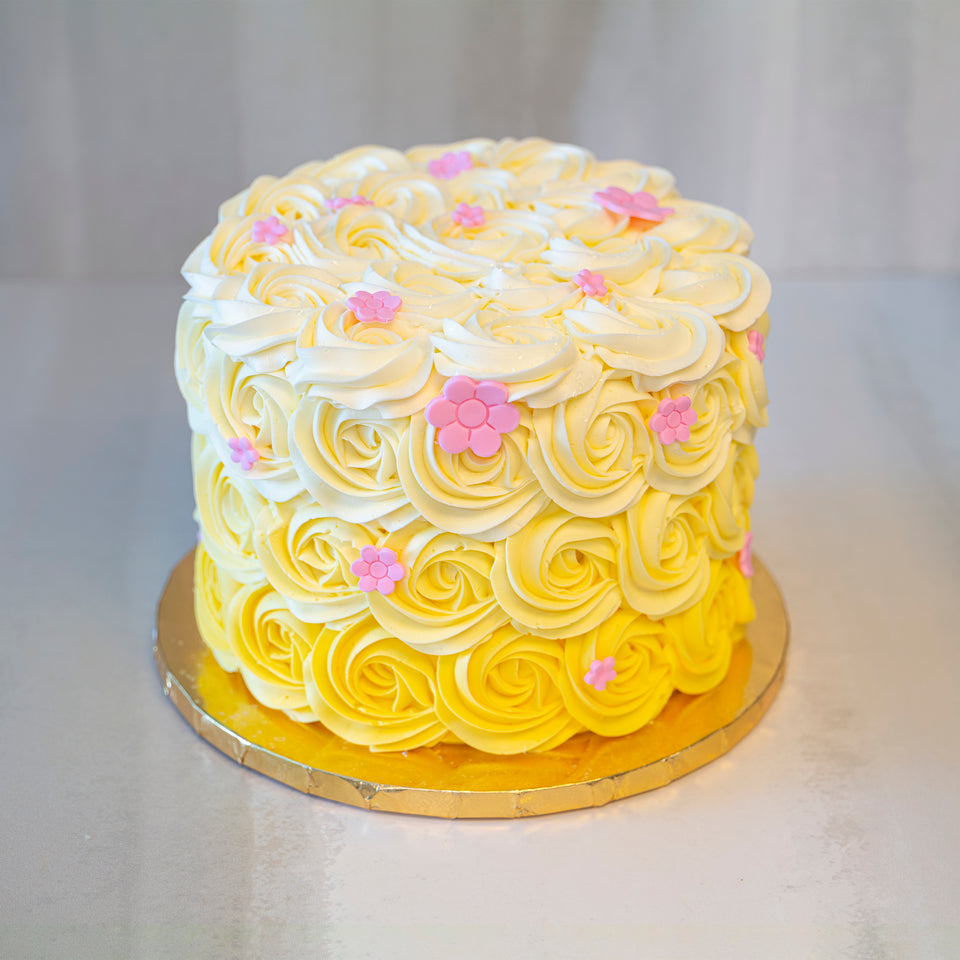Online Cake  Order - Ombre Rosettes #19Featured