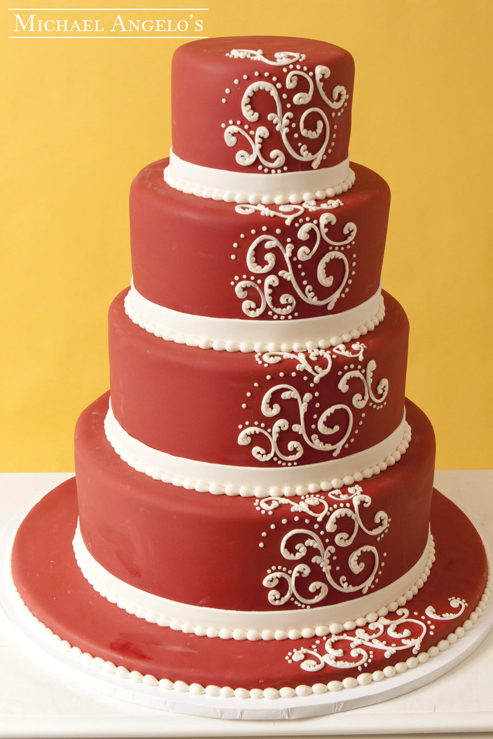 Royal Red Fondant #7Modern