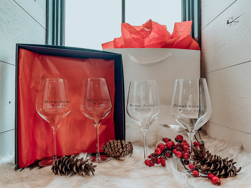 Wine Glasses Gift Package