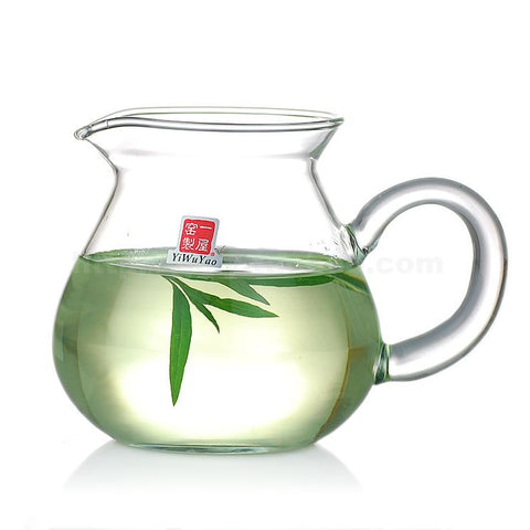 Clear Glass Tea Pitcher 360ml FH-331B #0005. http://china-cha-dao.com