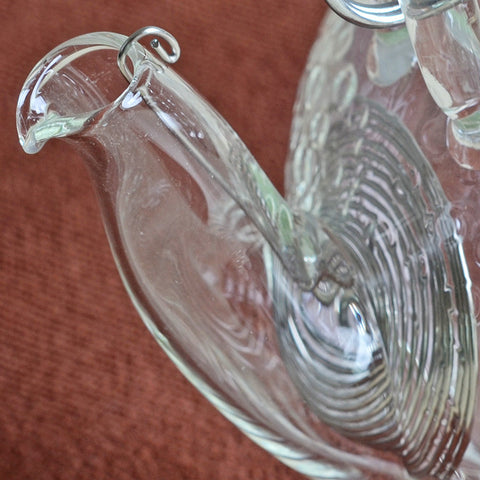 Clear Glass Teapot with Bamboo Handle 600ml FH-716MNTS #0068. http://china-cha-dao.com