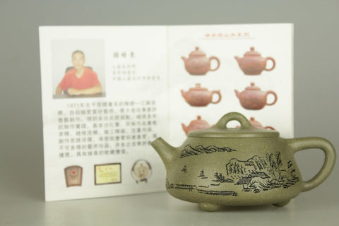 Yixing Zisha Clay Teapot 180ml #343