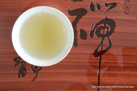 "2010 Douji Pure Series ""Ban Zhang"" Raw Puerh Tea 357g http:..china-cha-dao.com"