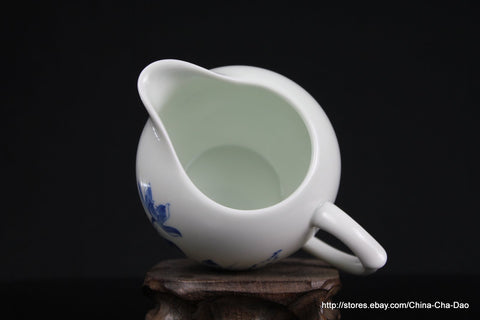"Douji - Jin De Zhen Handpaint ""Lotus"" Tea Set http://china-cha-dao.com"