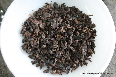 Aged Tie Guan Yin (Iron Goddess of Mercy) China Top Ten Famous Tea. http://china-cha-dao.com