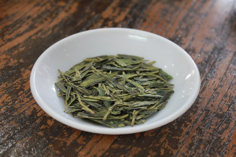 "Pre-Rain Grade 2 ""Long Jing""(Dragon Well) Green Tea. Chinese Top Ten Famous Tea. http://china-cha-dao.com"