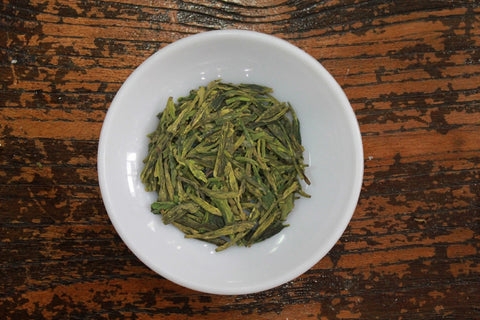 "Pre-Rain Grade 1 ""Long Jing""(Dragon Well) Green Tea. China Top Ten Famous Tea. http://china-cha-dao.com"