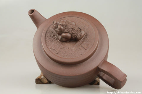 "Yixing Zisha Teapot ""The Golden Toad"" 200ml #273 China Cha Dao 
