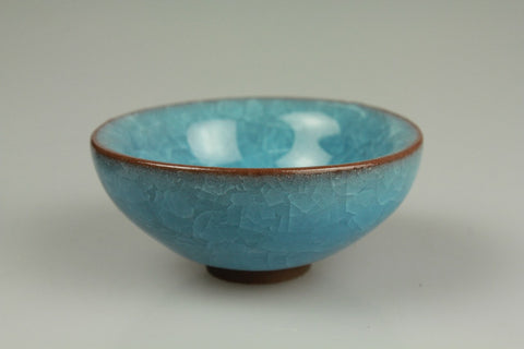 Ice Crack Pattern Porcelain Teacup 40ml #0113e. http://china-cha-dao.com